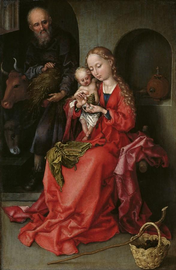 21 Мартин Шонгауэр Schongauer-Holy-Family