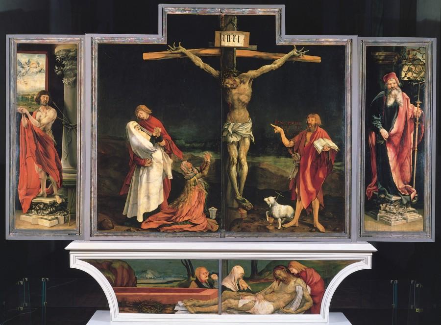 22 Изенгеймский алтарь Маттиас Грюнневальд 1510-15