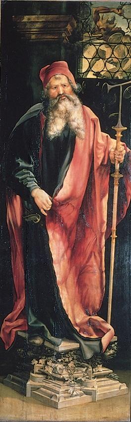 23 Изенгеймский алтарь Маттиас Грюнневальд 1510-15 2