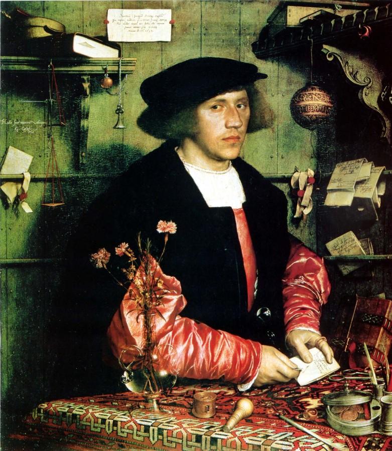32 Ганс Гольбейн портрет Георга Гиссе