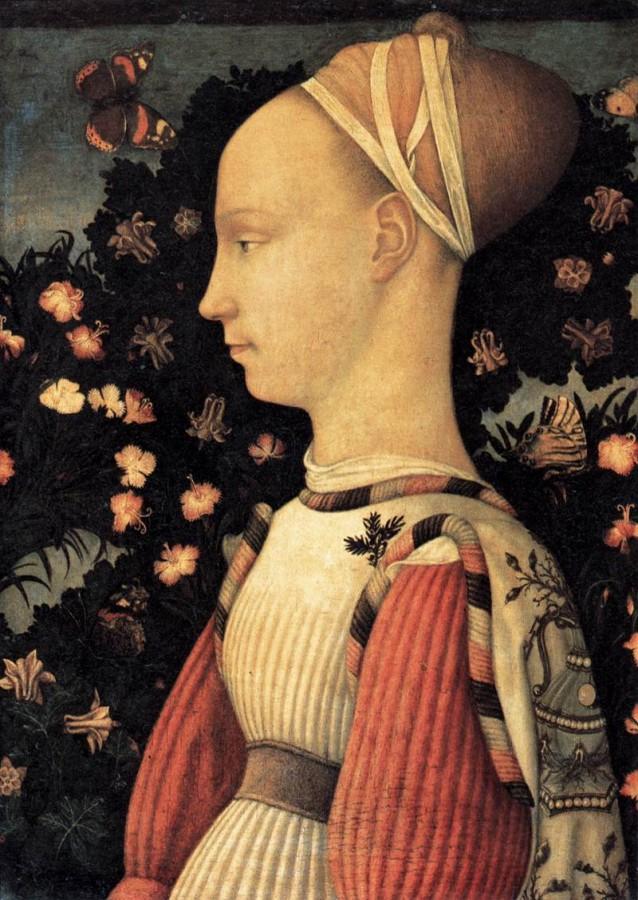 33 пизанелло графиня гиневра эсте 1436 38