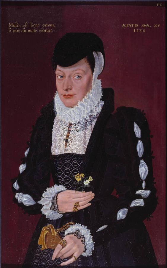 Портрет леди 1576 лютик богатство первоцвет замужество