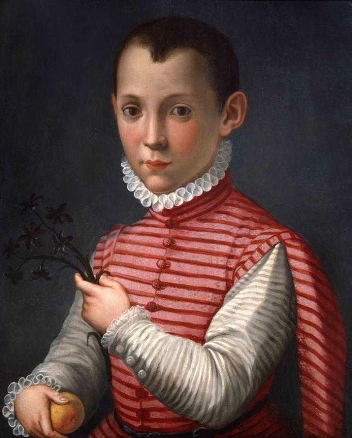 МИрабелло Кавалори Мальчик с гиацинтом и персиком мудрость ловкость игривость