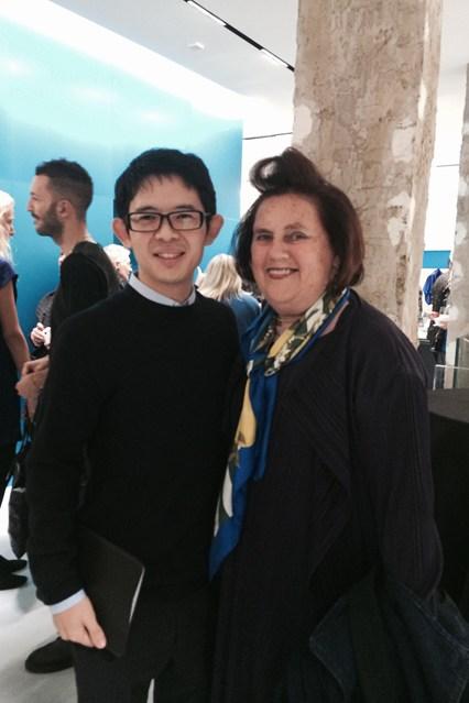 Сьюзи Менкес на открытии мазазина в Лондоне окт14