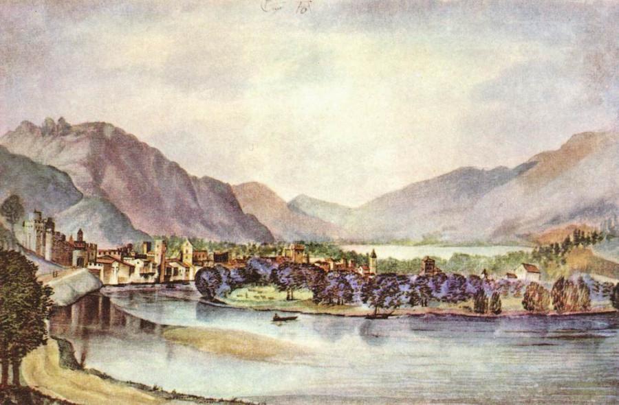 Город Триент 1495
