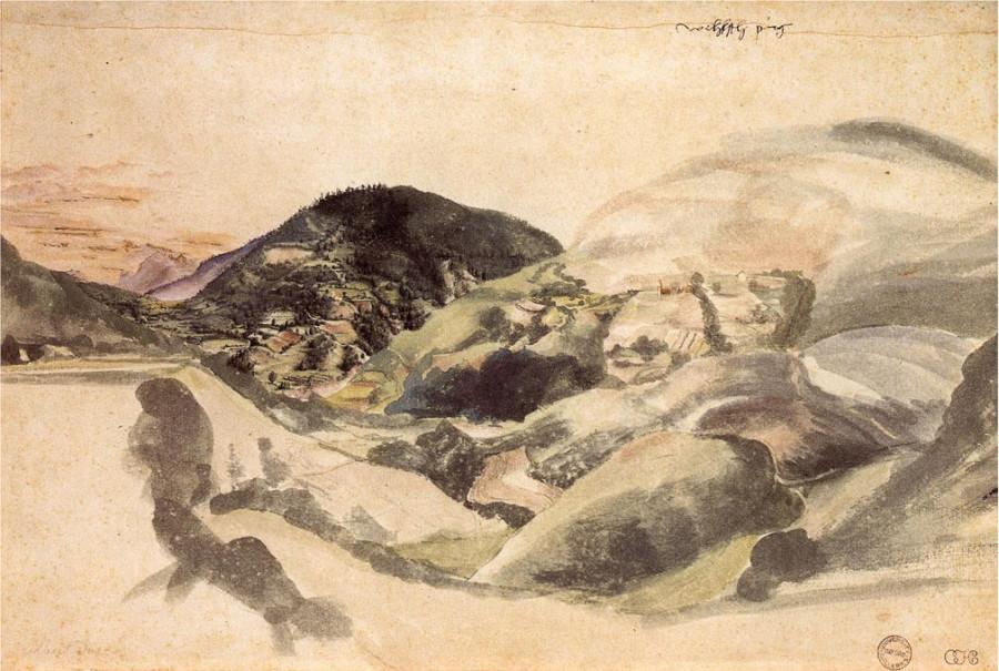 Пейзаж близ Сегонзано в долине Сембра 14942