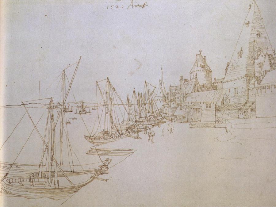 яАнтверпенская гавань 1520