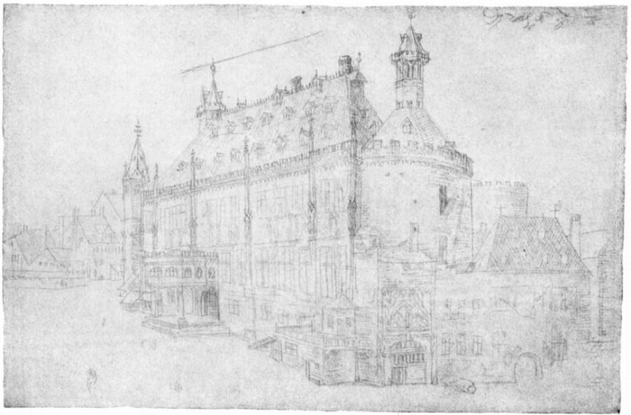 Ахен городская ратуша