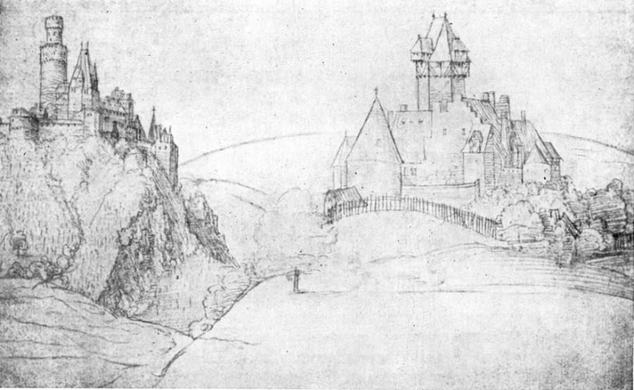 1521 замок на рейне