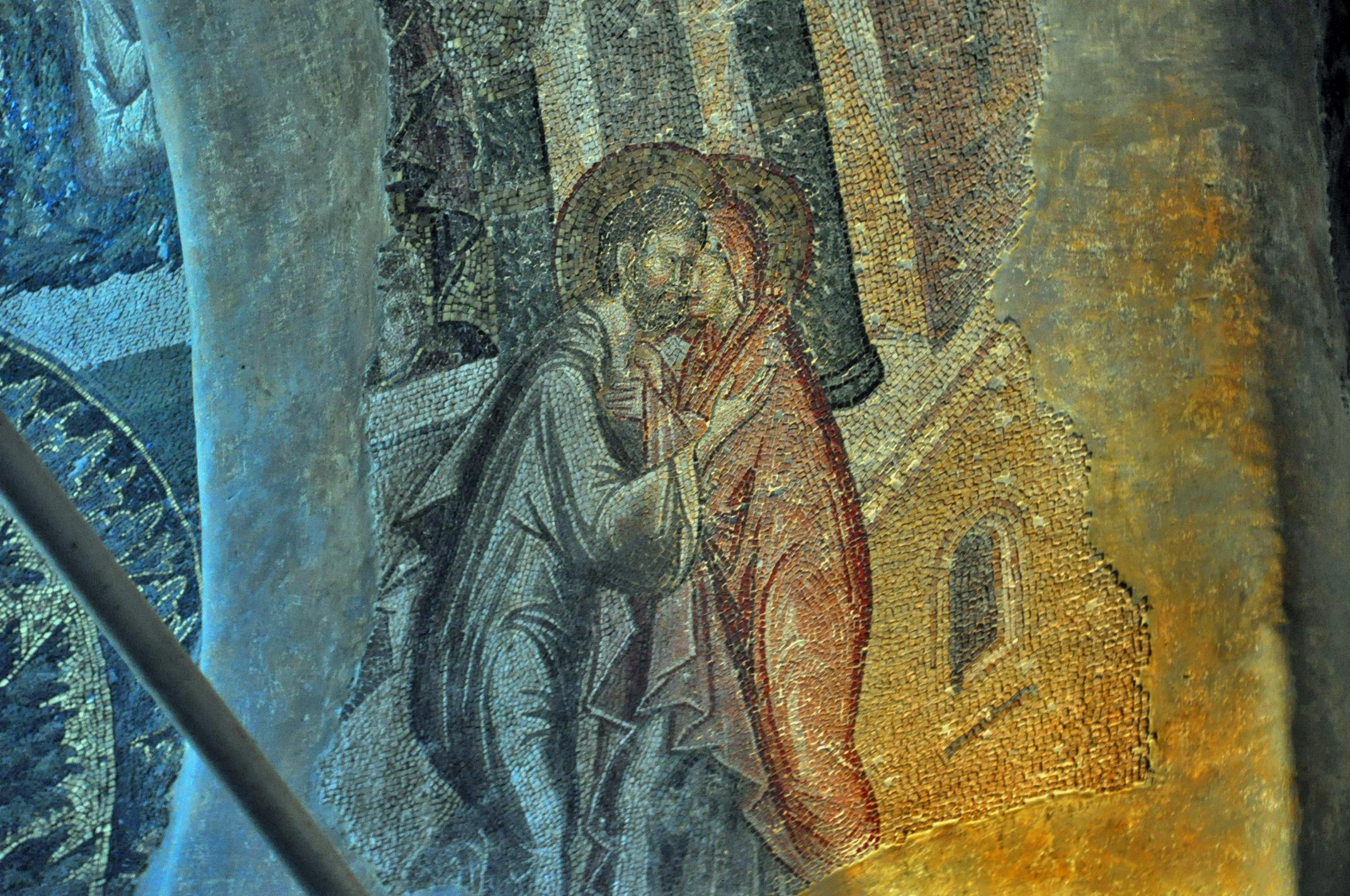 Встреча и целование Иоакима и Анны у Золотых ворот Иеруслима