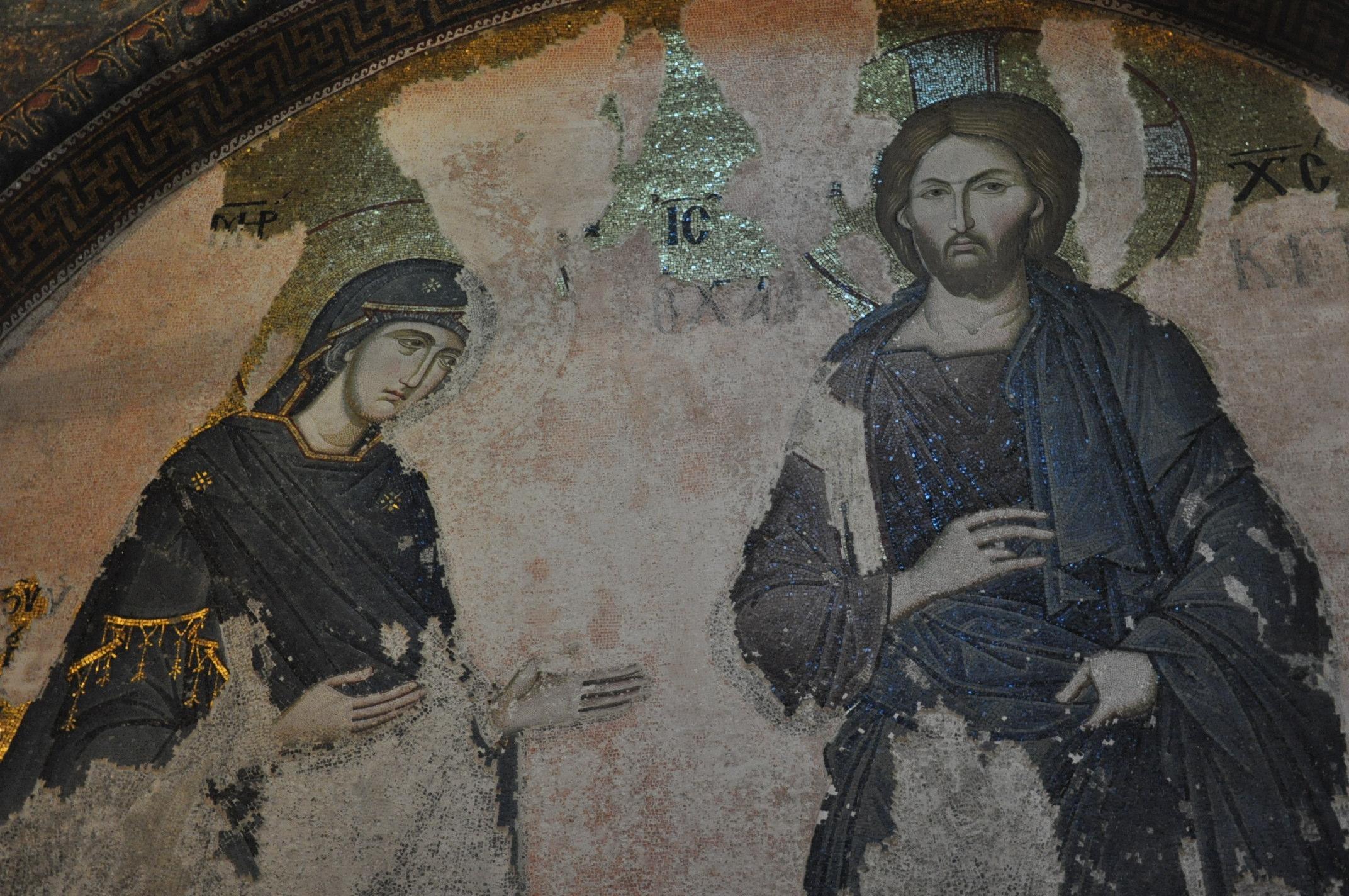 Пантократор с Марией