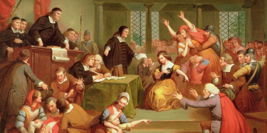 salem trials The new theory claims the 17th century salem witch trials were sparked by tainted rye, which caused seizures, pain and hallucinations in locals - which were put down to witchcraft.