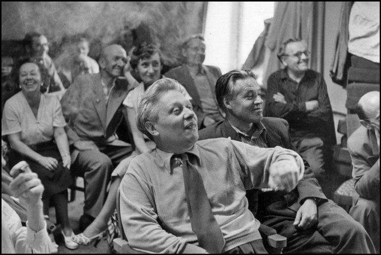 1954 Москва театр Образцова