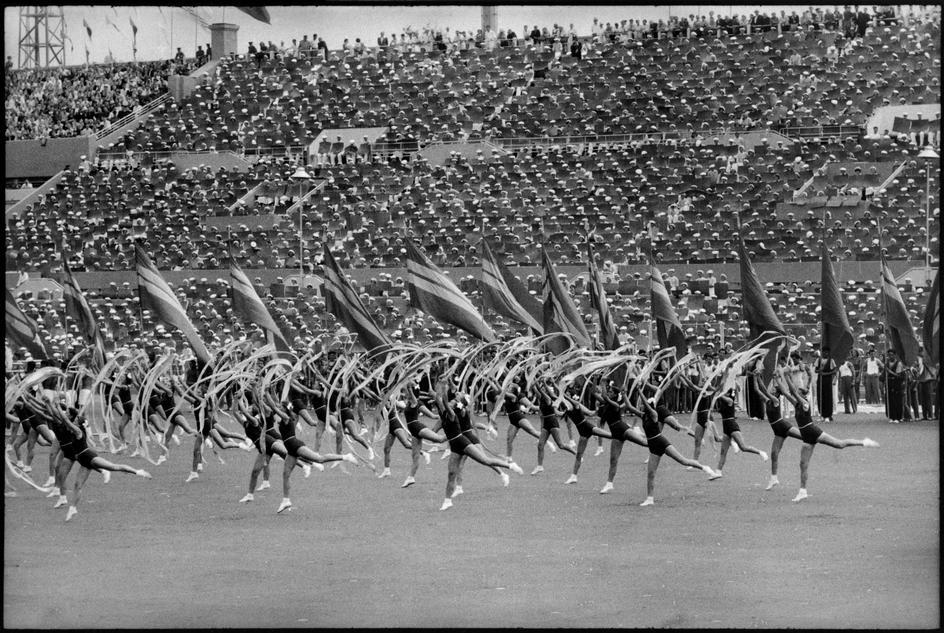 1954 Июль 1954 Москва Стадион Динамо