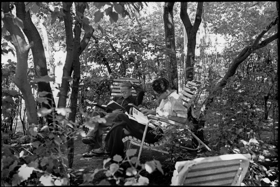 1954 Москва Парк Горького