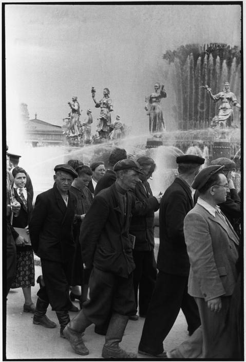 1954 Москва Открытие ВДНХ