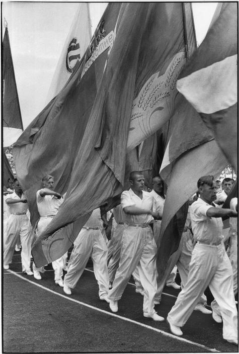 1954 июль спортивный фестиваль на стадионе Динамо