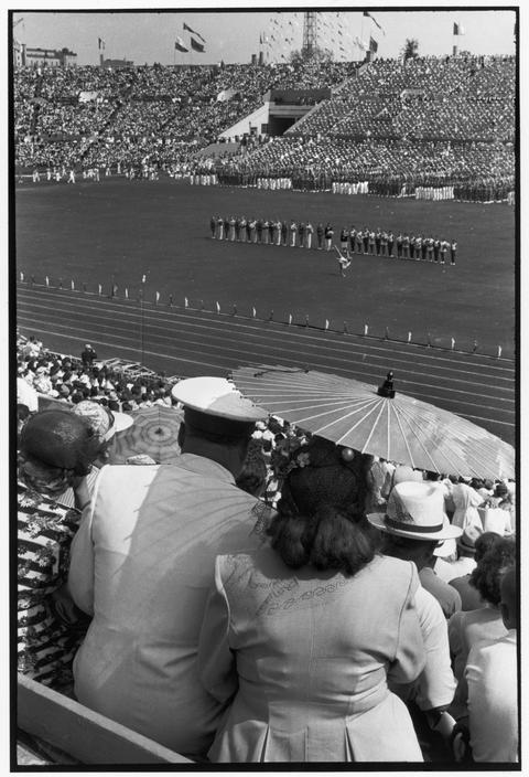 1954 Москва фестиваль на стадионе Динамо