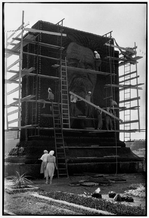 1954 Москва Портрет Горького в одноименном парке