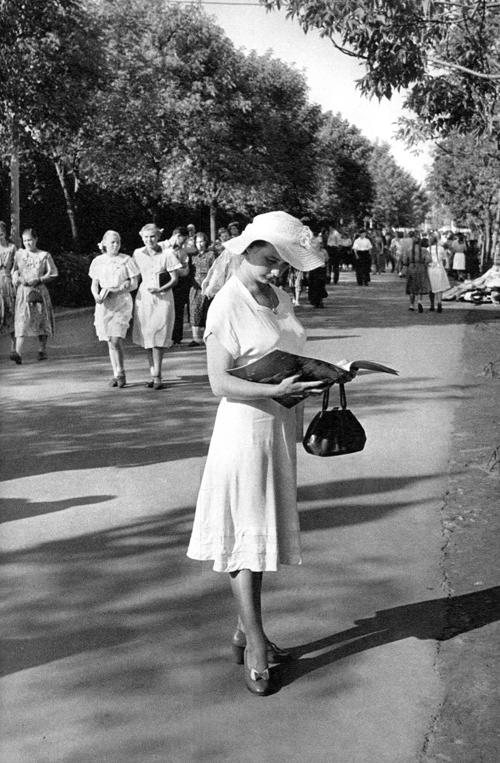 1954 Москва, ЦПКиО им. Горького
