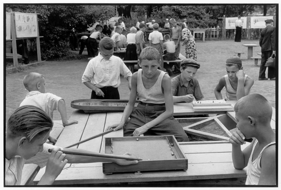 1954 Москва. Парк Горького 1954