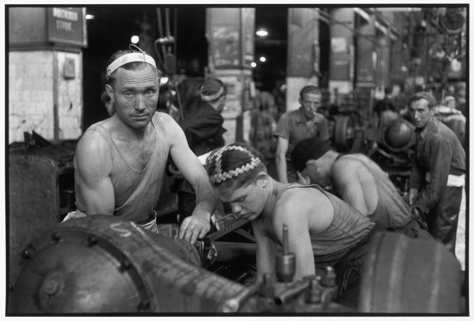 1954 Москва. Завод ЗИС 1954