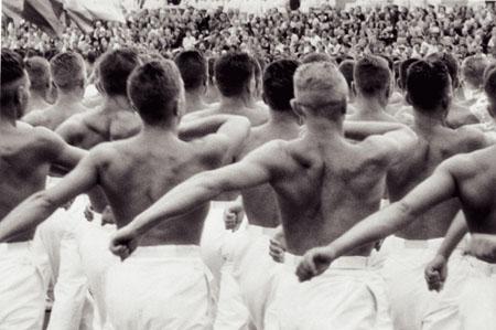 1954 Москва, Парад гимнастов, стадион Динамо