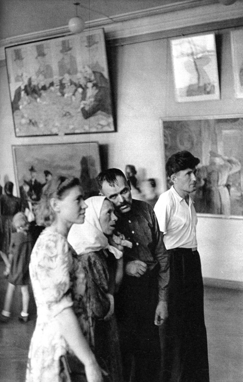 1954 Москва, В Третьяковской галерее2