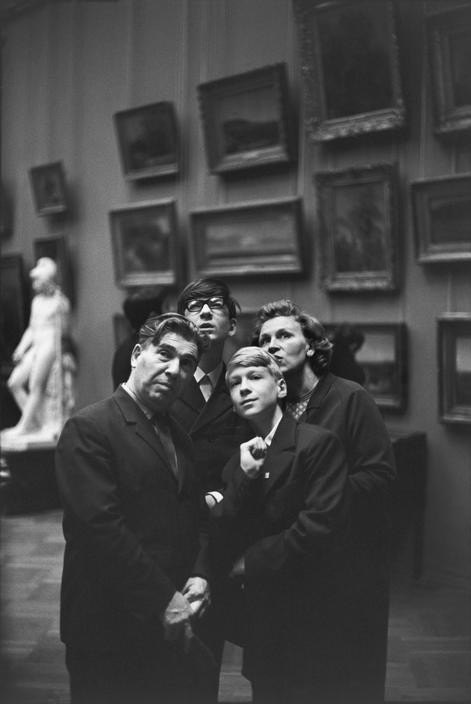 1954 Москва 1954 в Третьяковской галерее4