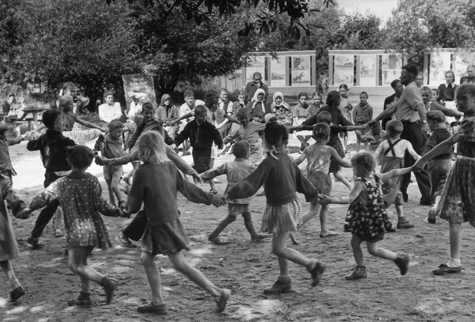 1954 Парк культуры и отдыха в Ленинграде