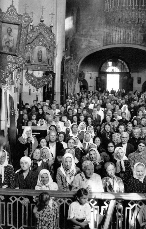 1954 Москва, Церковь в Сокольниках1