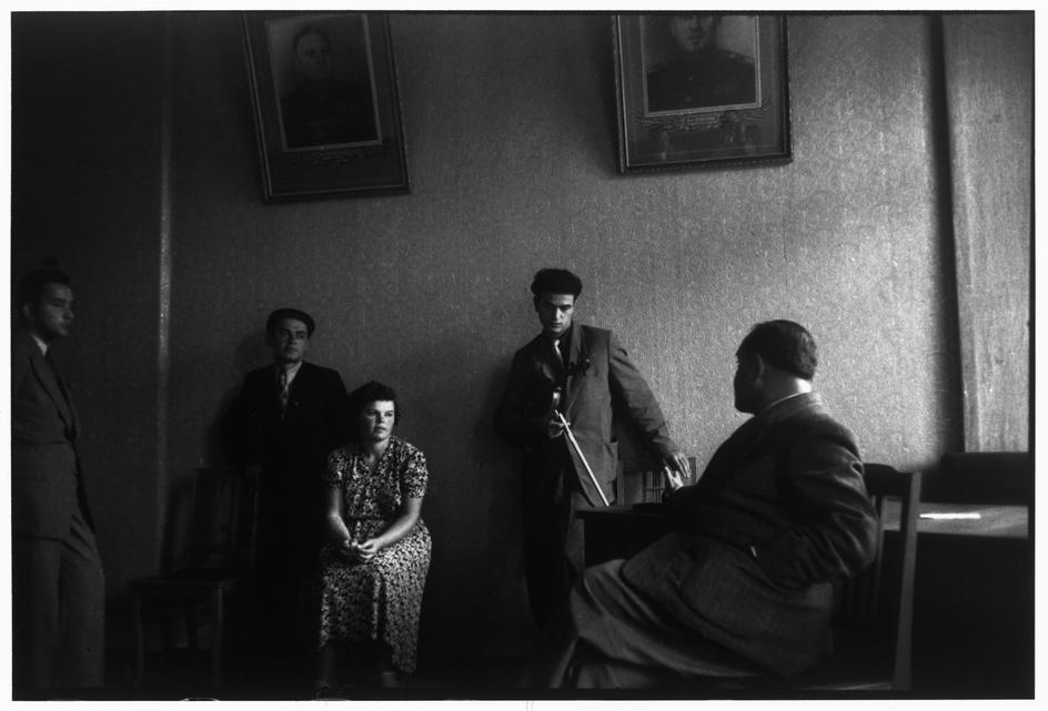 1954 Москва, Консерватория, урок Давида Ойстраха