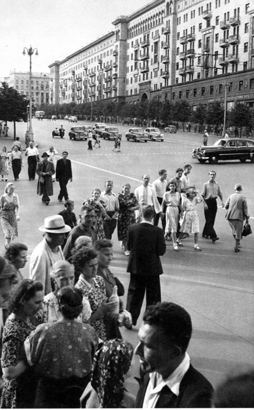 1954 Москва, Улица Горького