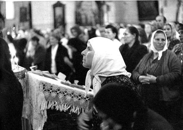 1954 Москва, Церковь в Сокольниках