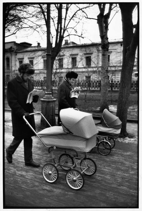 1954 Москва. Воскрестное утро на Гоголевском