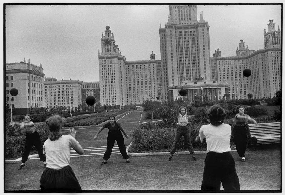1954 Москва. Университет