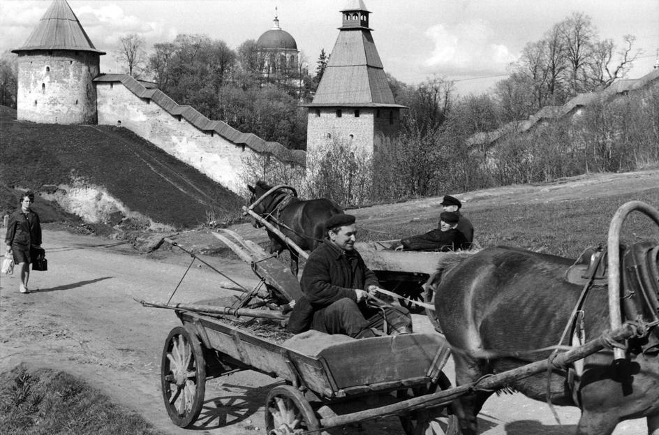 1972 Псков, Печорский монастырь