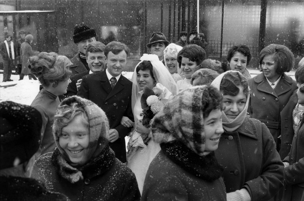 1972 Сибирь Иркутск Молодожоны