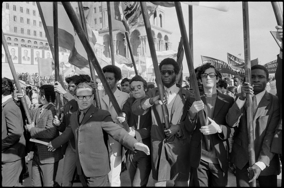 1972 Студенты Института нефти Баку