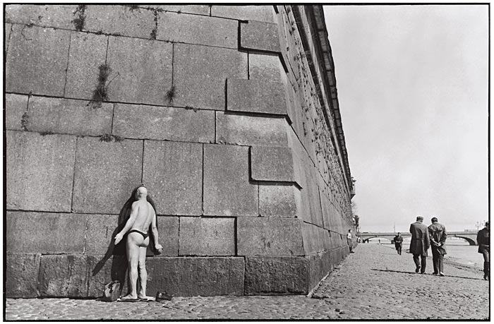 1973 Ленинград, Пляж у Петропавловской крепости