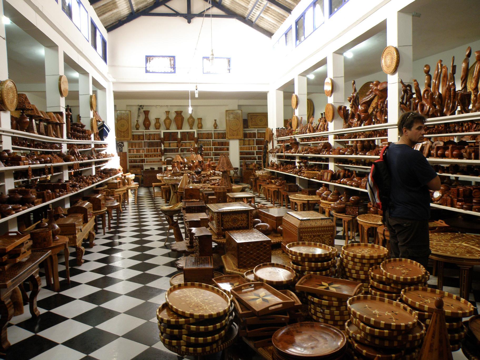 Магазин изделий из атласского кедра