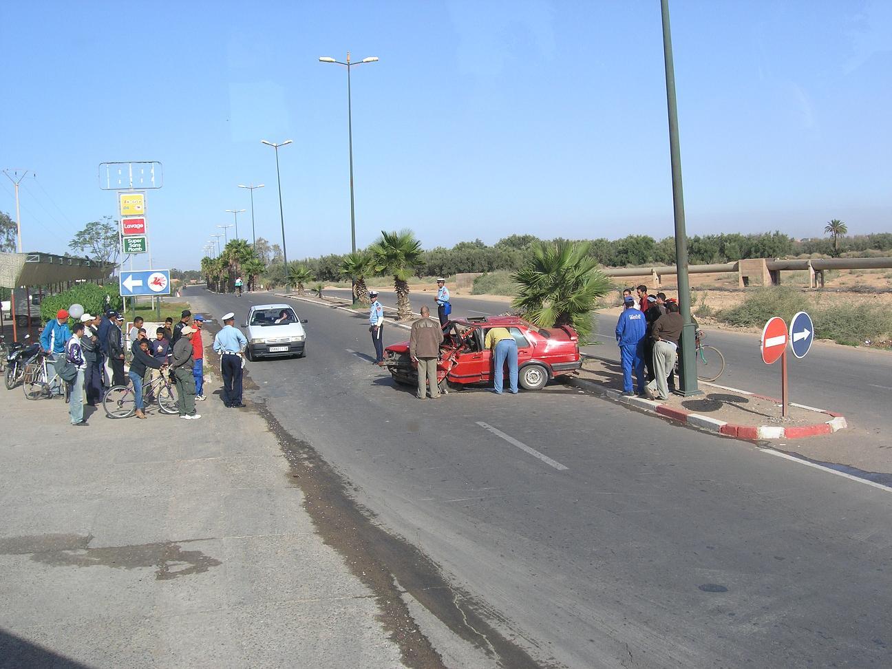 Марокканское ДТП
