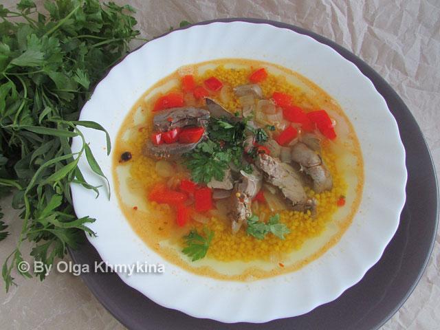 millet-soup