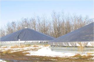 Хранение зерна в быстровозводимых кольцевых зернохранилищах