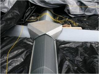 Хранение зерна. Система вентиляции - вентиляционные каналы