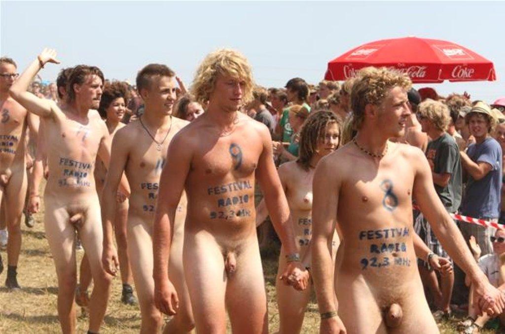 outdoor nude fuck festival