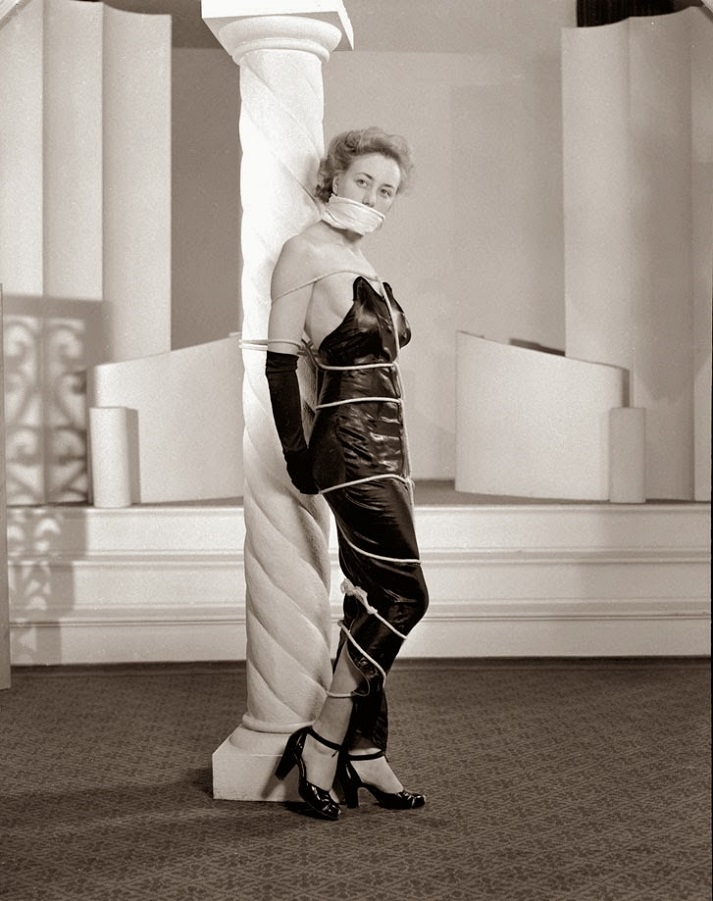 Alternative Bondage Fashion from the 1940's (1)