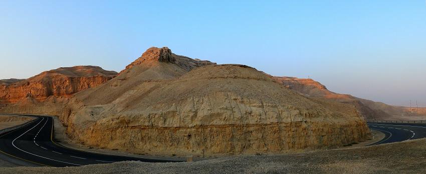 Дорога от Мертвого моря в Димону. дд