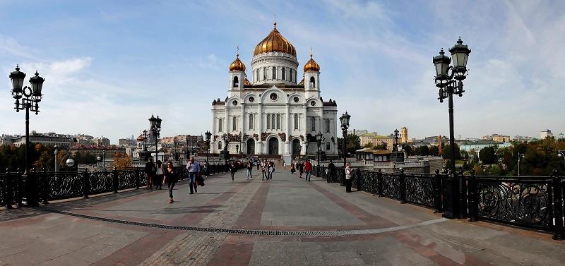 Москва. Храм Христа Спасителя. сент 2012