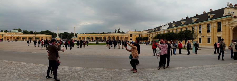 3  Новая панорама 1 Площадь перед дворцом Шенбрунн m
